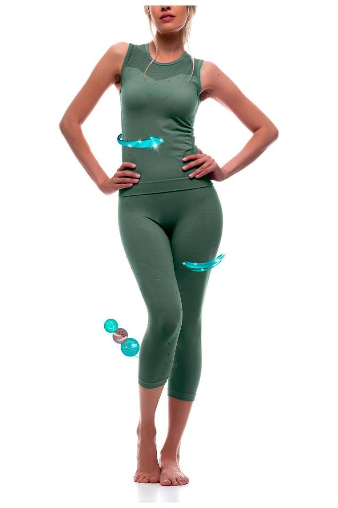 Conjunto yoga reductor de la fatiga muscular con Emana® Vira