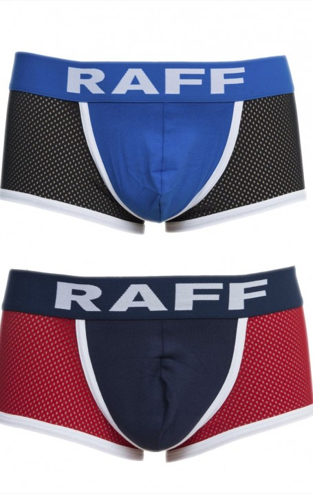 RAFF BOXER- SPORT with breathable fishnet