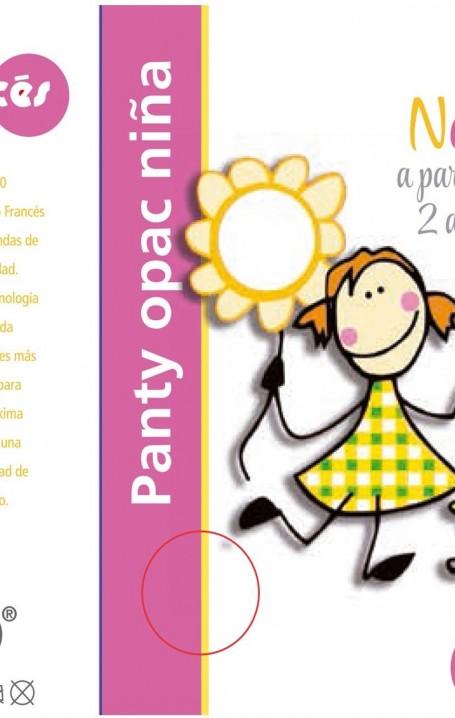 Panty  Niña 40 den Opac