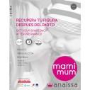 MAMIMUM- Legging para después del parto. Cosméticotextil Inteligente Triple Acción 200 den con Fibra Emana®, adelgaza en 30 días