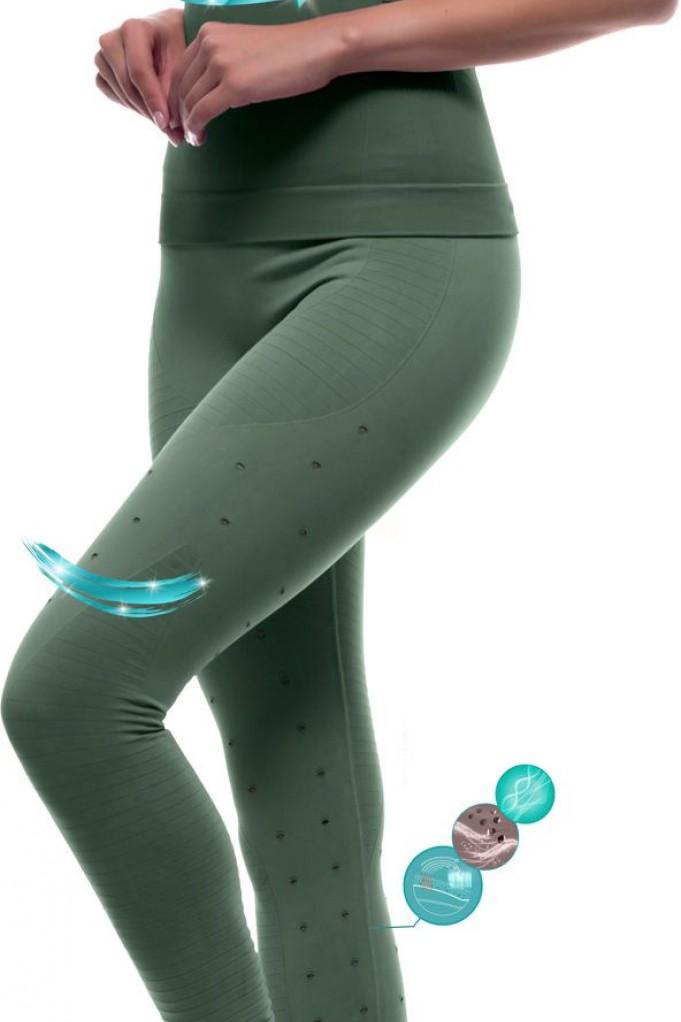 Legging + camiseta reductora con fibra Emana® Mukha