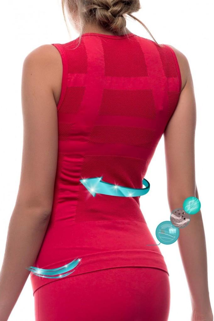 Camiseta sculpt con fibra Emana® ANIE