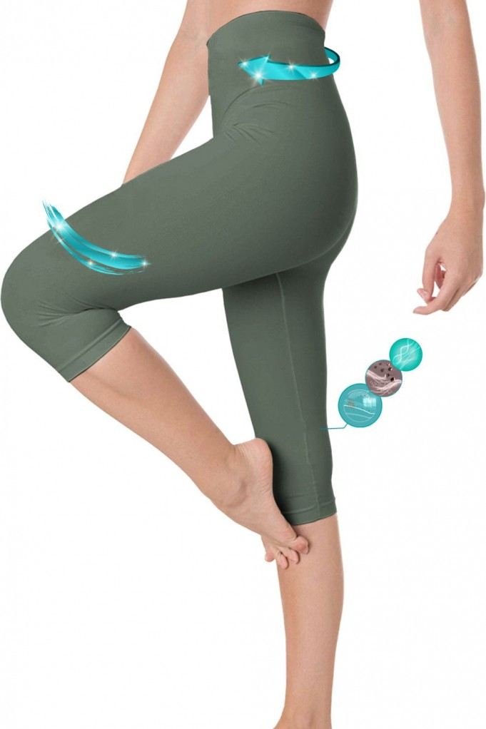 Legging capri adelgazante con fibra Emana® Azir